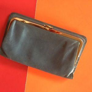 HOBO soft blue leather